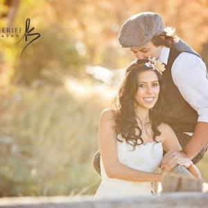 Autumn headband, fall wedding, ivor..