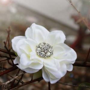 Bridal hair clip for Wedding, flowe..