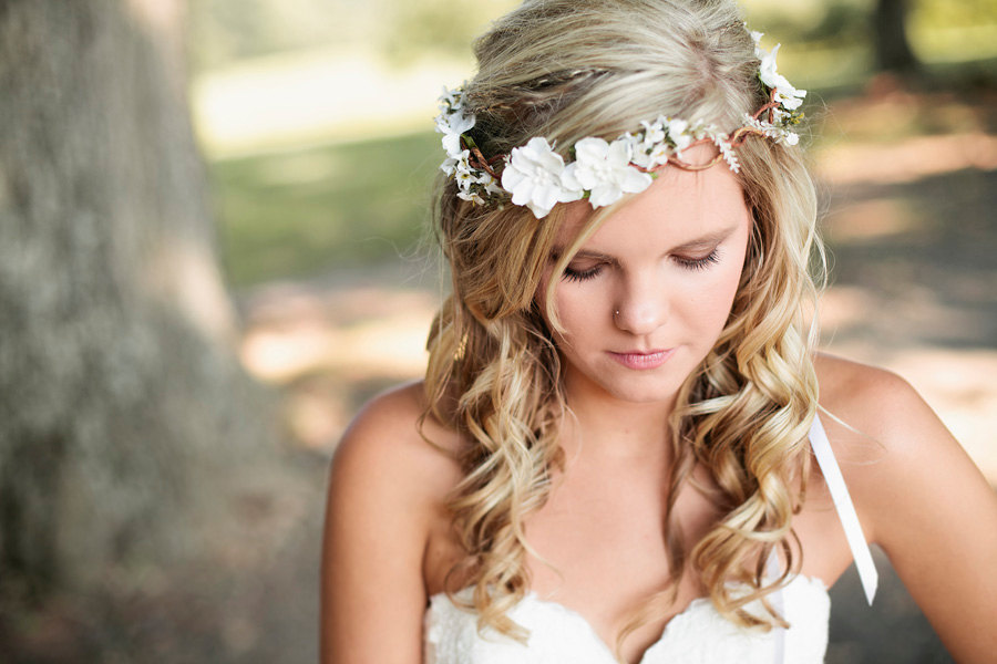 Wedding Headband Bridal Flower Hair Accessories Headpiece Head